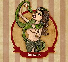 Cirque D'Burlesque: The Snake Charmer by artemissart
