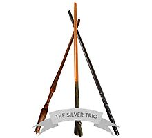 The Silver Trio Photographic Print