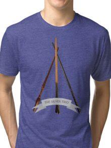 The Silver Trio Tri-blend T-Shirt