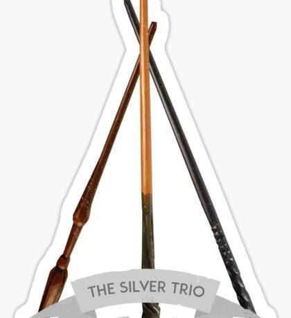 The Silver Trio Sticker