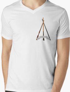 The Silver Trio Tiny Mens V-Neck T-Shirt