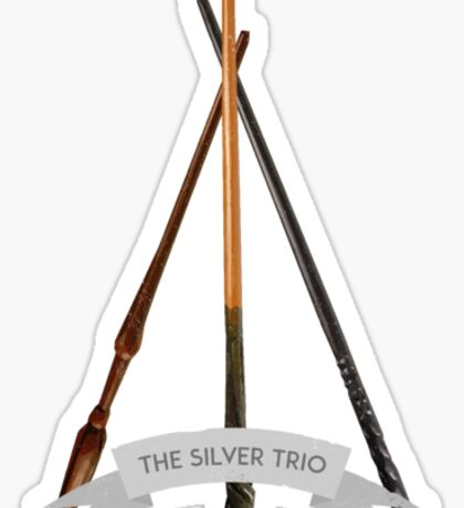 The Silver Trio Tiny Sticker