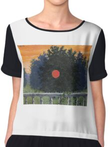 The Banquet by Magritte Chiffon Top