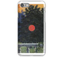 The Banquet by Magritte iPhone Case/Skin