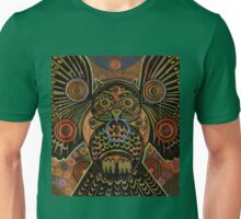 Big Bronze Owl Unisex T-Shirt