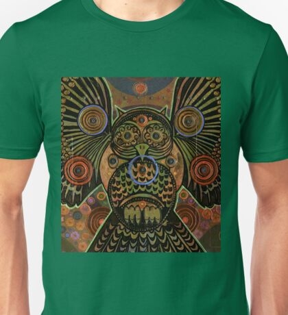 Big Bronze Owl Unisex T-Shirt