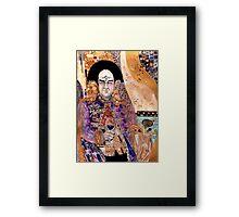 seeing - Klimt Londo Mollari Framed Print