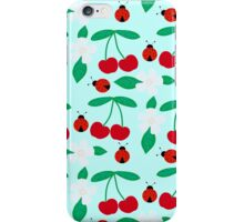 Cherries&Ladybugs iPhone Case/Skin