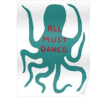All must dance Poster