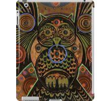 Big Bronze Owl iPad Case/Skin