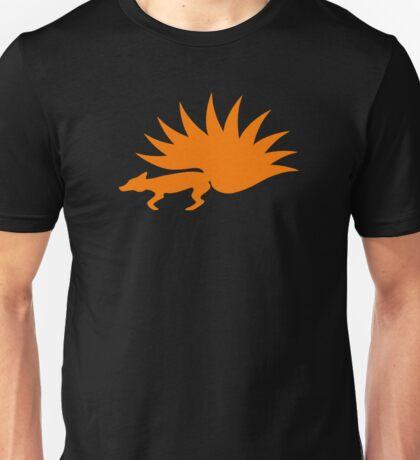 NARUTO: Nine-Tails Kurama Star Fox Logo - Orange Unisex T-Shirt