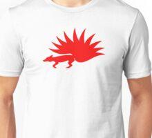 NARUTO: Nine-Tails Kurama Star Fox Logo - Red Unisex T-Shirt