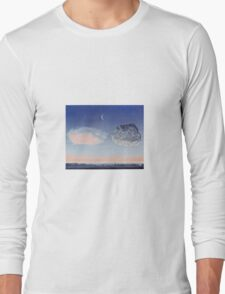 The Battle of Argonne by Magritte Long Sleeve T-Shirt