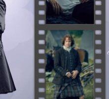 Outlander/Jamie Fraser collage Sticker