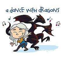 A Dance With Dragons Photographic Print