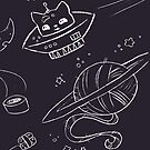 Cats in Space by Shonuff  Studio
