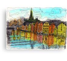 Trondheim, Norway Canvas Print