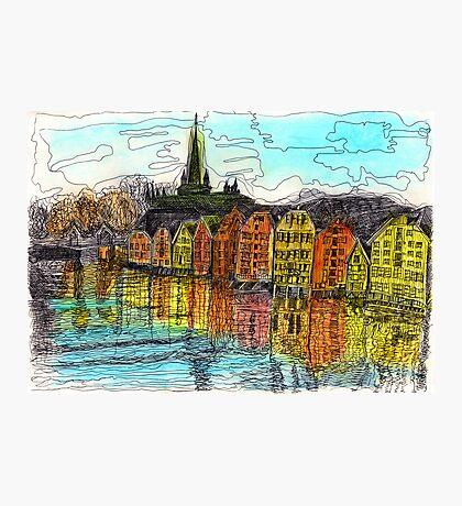 Trondheim, Norway Photographic Print