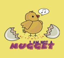 I am not a nugget One Piece - Short Sleeve