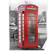 Old phonebox Poster