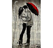 rainfall and kisses  Photographic Print