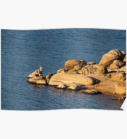 El Capitan Reservoir, San Diego County, California, 6 Poster