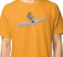 """Nausicaa on her """"Mehve"""" glider Pixel Art Classic T-Shirt"""