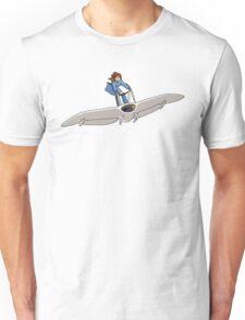 """Nausicaa on her """"Mehve"""" glider Pixel Art Unisex T-Shirt"""
