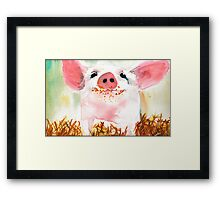 Because I'm Happy Framed Print