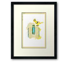 Bastion Framed Print