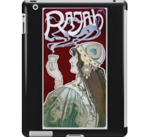 Rajah by Henri Privat-Livemont (Reproduction) iPad Case/Skin