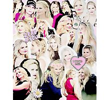 Jennifer Morrison Collage Photographic Print