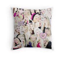 Jennifer Morrison Collage Throw Pillow