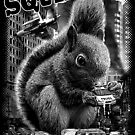 ATTACK OF SQUIRILLA by MEDIACORPSE