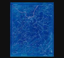 USGS TOPO Map Alabama AL Gadsden 305842 1888 125000 Inverted Unisex T-Shirt