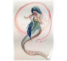 Omnivorous Mermaid Poster
