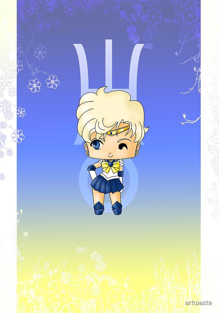 Chibi Sailor Uranus by artwaste