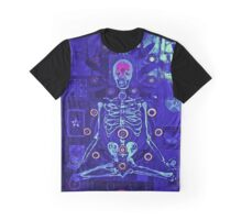 Meditating skeleton Graphic T-Shirt