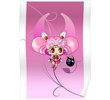 Chibi Mini Moon Poster