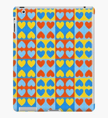 HEARTS-COLOURS iPad Case/Skin