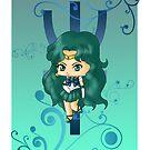 Chibi Sailor Neptune by artwaste
