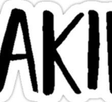 peaking Sticker