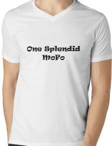 One Splendid Mofo Mens V-Neck T-Shirt