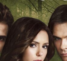 The Vampire Diaries Cover Sticker