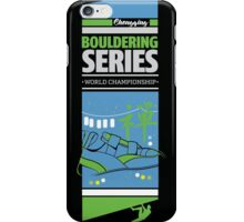Bouldering world cup series_China iPhone Case/Skin