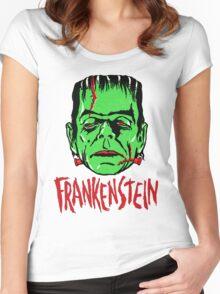 FRANKENSTEIN - Vintage 1960's Style! Women's Fitted Scoop T-Shirt