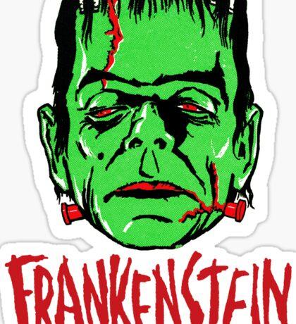 FRANKENSTEIN - Vintage 1960's Style! Sticker