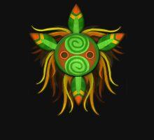 Leaf tribal mask. Unisex T-Shirt