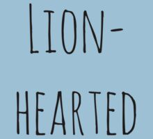 Lion-hearted  One Piece - Short Sleeve