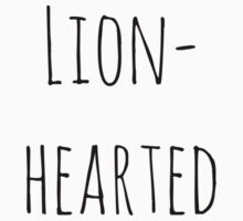 Lion-hearted  Kids Tee